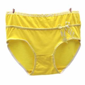 yellow granny underpants
